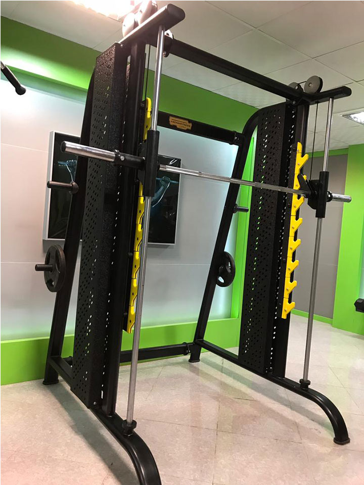دستگاه بدنسازی اسمیت ماشین SKY FITNESS: خرید، قیمت و آموزش تصویری اسکوات