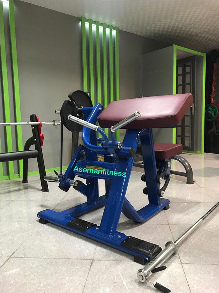 بهترین دستگاه بدنسازی جلوبازو لاری وزنه آزاد