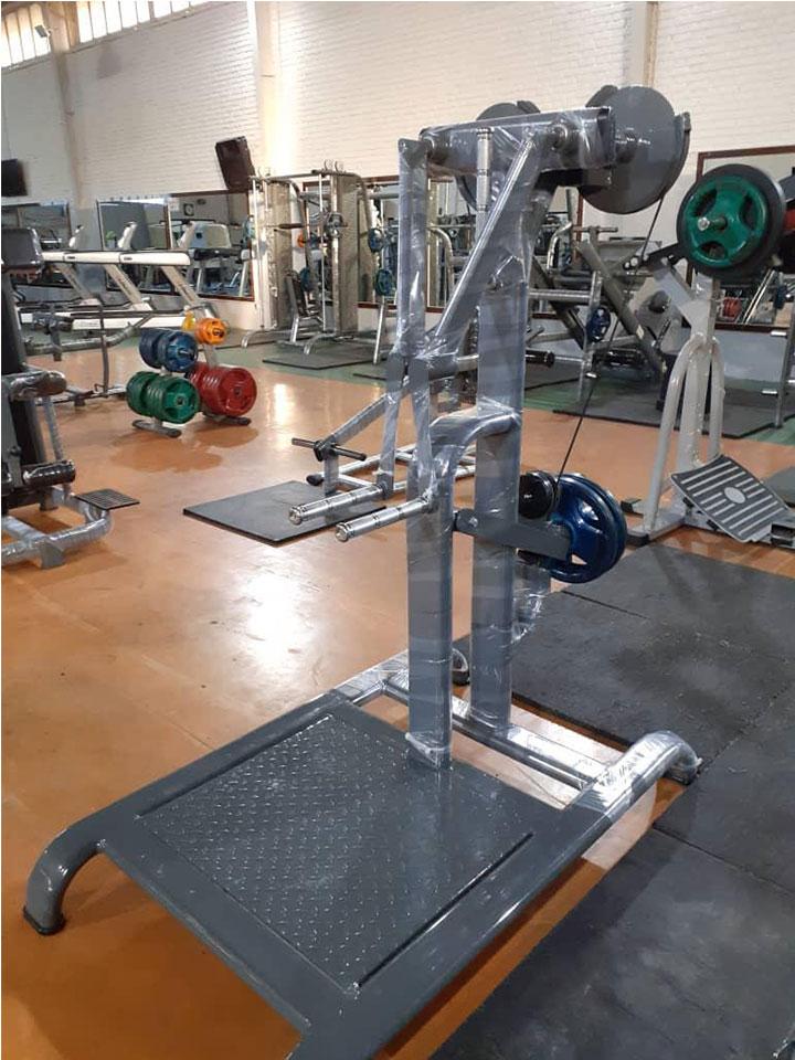 دستگاه بدنسازی نشر جانب وزنه آزاد