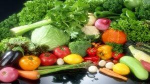 تاثیر سبزی های خام در بدنسازی