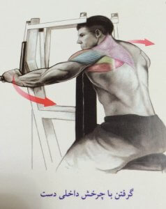 انجام حرکت قفسه سینه تصویری