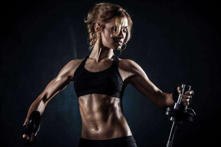 عضلات سینه بانوان-آموزش فیتنس بانوان
