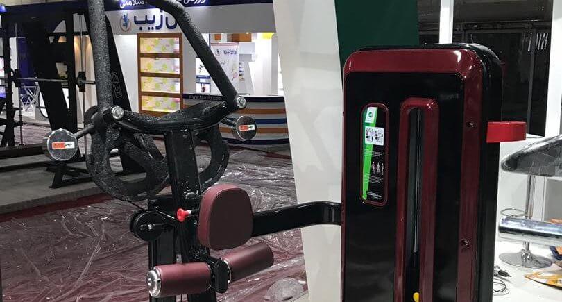 دستگاه بدنسازی زیربغل ضربدری شرکت آسمان فیتنس