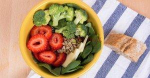 غذاهای کم کالری
