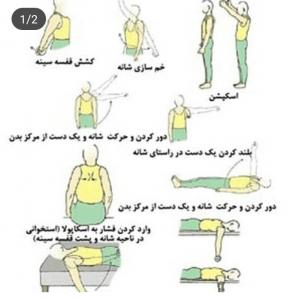 درد شانه و علت آن